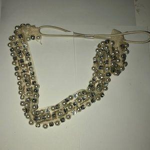 Pearl and Diamond Headband